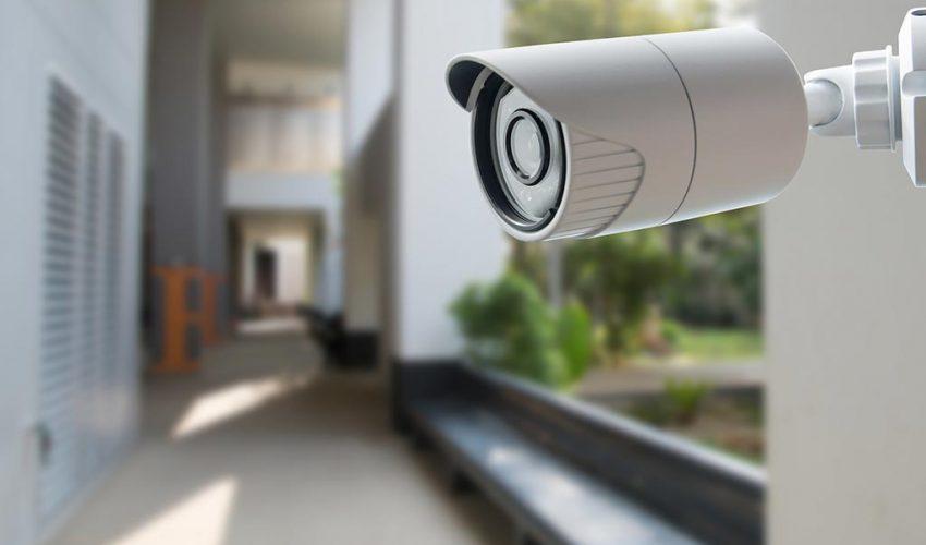 Câmera instalada por uma empresa de segurança em Osasco SP