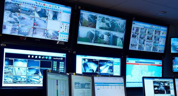 Circuito fechado de TV que ajuda na segurança no final de ano